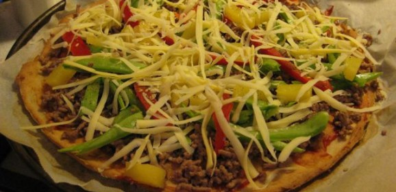 Grain Free Pizza Base