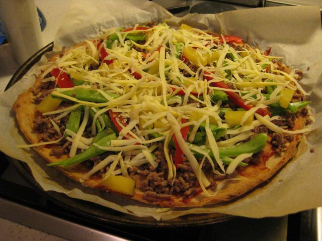 Gluten Free Quinoa & Buckwheat Pizza Base