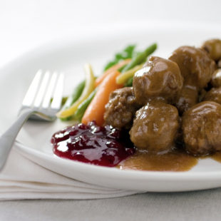Meatballs and Sauces all contain grains