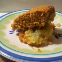 Grain-Free/Gluten-Free Apple and Pear Sponge Pudding