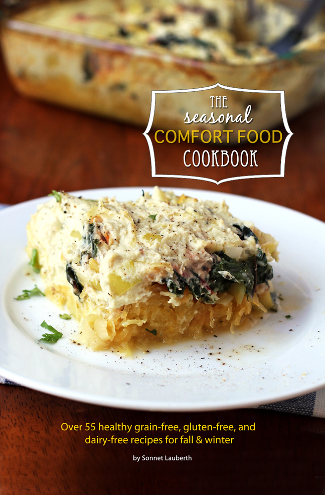 Grain Free Comfort Food Book
