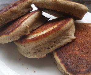 Buckwheat Banana Pancakes (Gluten Free, Dairy Free, Low Salicylate)