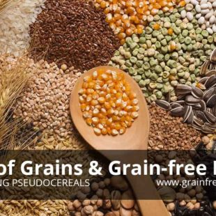 List of Grains and Grain-Free Foods including Pseudocereals