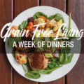 7 days of gluten free dinners #1